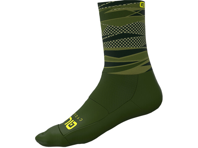 Alé Cycling Rock Chaussettes Homme, army green